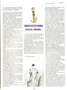 Filósofo, filosofo Revista