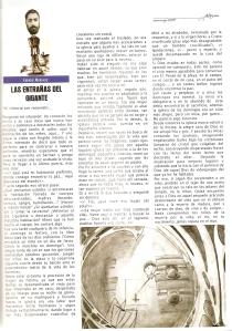 Las entrañas del gigante Revista